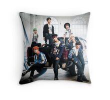 BTS 10 Throw Pillow
