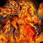 Fire Dancer by Carol  Cavalaris