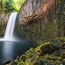 Abiqua Falls by jswolfphoto