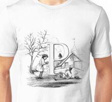 Child Alphabet Letter P Unisex T-Shirt