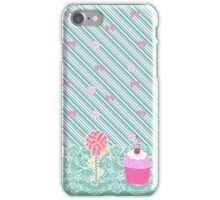 Wreck It Ralph Vanellope Von Schweetz Inspired Candy Print iPhone Case/Skin