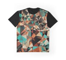 Abstraction #007 Multicolor Triangles  Graphic T-Shirt