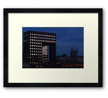 Office Squares & Southwark Cathedral Framed Print