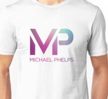 Michael Phelps Blue Violet Logo Unisex T-Shirt