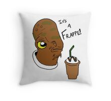 It's a Frappe! Throw Pillow
