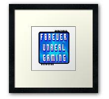 F0rever Unreal Gaming Logo 2 Framed Print