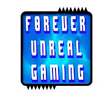 F0rever Unreal Gaming Logo 2 Photographic Print