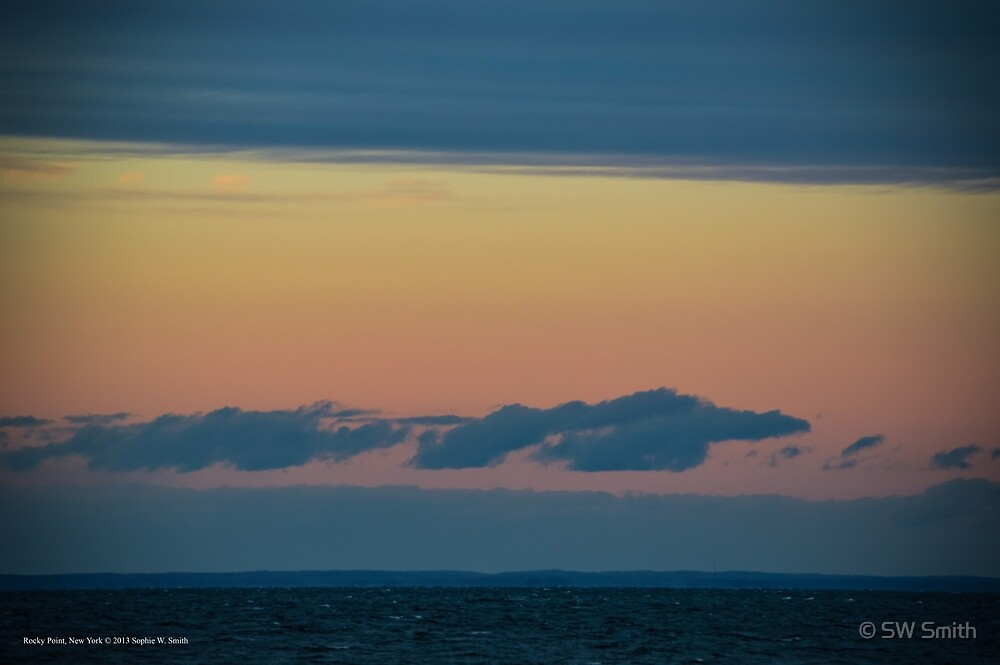 Dusk Over Long Island Sound | Rocky Point, New York by © Sophie W. Smith