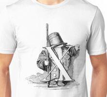 Child Alphabet Letter X Unisex T-Shirt
