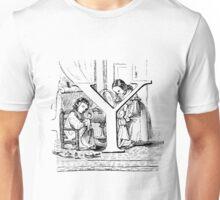 Child Alphabet Letter Y Unisex T-Shirt