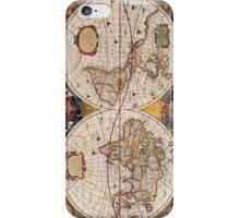 World map cases iPhone Case/Skin