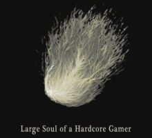 Large Soul of a Hardcore Gamer ( Dark Souls ) by RedLemon