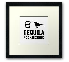 Tequila Mockingbird Framed Print