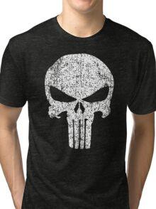 The Punisher Skull Tri-blend T-Shirt