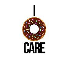 I 'donut' care Photographic Print