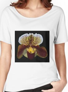 Venus Slipper Orchid Women's Relaxed Fit T-Shirt
