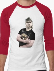 Poida Full Frontal Aussie Funny Shirt Men's Baseball ¾ T-Shirt