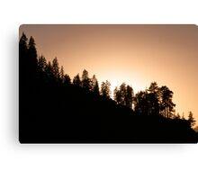 Sunset over Glacier Point Canvas Print