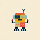 Happy Robot by daisy-beatrice