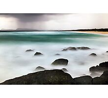 Beach Squall Photographic Print