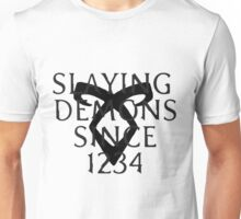 slaying demons Unisex T-Shirt