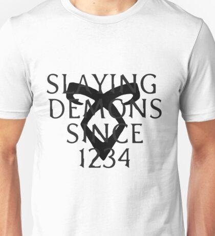 slaying demons Unisex T-Shirt