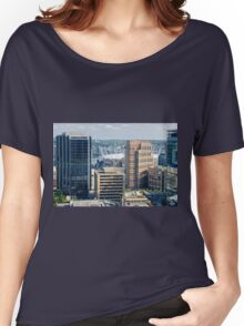 The City Life Women's Relaxed Fit T-Shirt