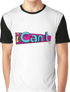 iCan't - iCarly Logo Spoof Graphic T-Shirt