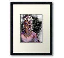 Ouija Girl Framed Print