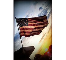 Ole' Glory Photographic Print