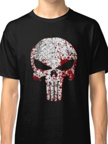 The Punisher Bloody Skull Classic T-Shirt