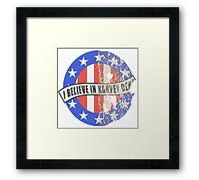 I Believe In Harvey Dent Framed Print