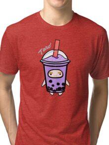 Taro - Boba Kids Tri-blend T-Shirt