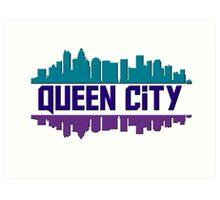 Queen City, NC Art Print