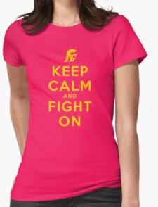 USC Fight On (Blackout) Womens Fitted T-Shirt