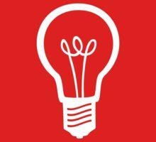 Simple Light Bulb Kids Tee