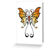 Fun Playful Butterfly! Greeting Card
