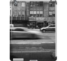 E 42nd Street. Street scene. iPad Case/Skin