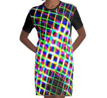 Shape it Bright Graphic T-Shirt Dress