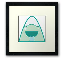 Happy Hill Framed Print