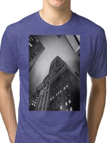 New York City skyscrapers Tri-blend T-Shirt