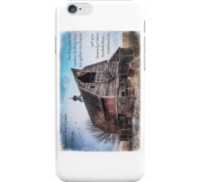 Matthew 6:26 (Old Barn & Birds) iPhone Case/Skin