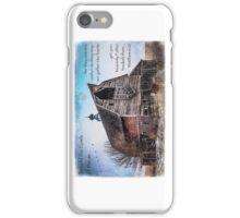 Matthew 6:26 (Old Barn & Birds) iPhone Case/Skin