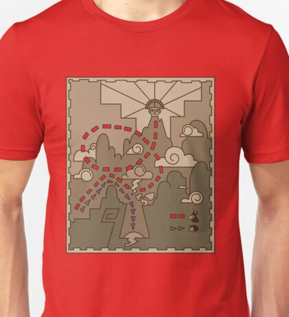 Kuzco Map Unisex T-Shirt