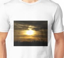 Sunset over Cane Fields Unisex T-Shirt