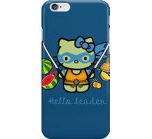 Hello Ninja Turtle Leader iPhone Case/Skin