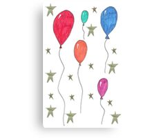 Birthday Party Canvas Print