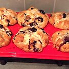 Blueberry Muffins by BevsDigitalArt