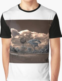 Metal racehorse Graphic T-Shirt