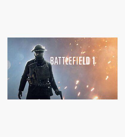 Battlefield 1 Photographic Print